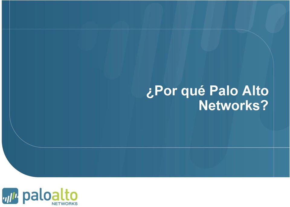 Networks?