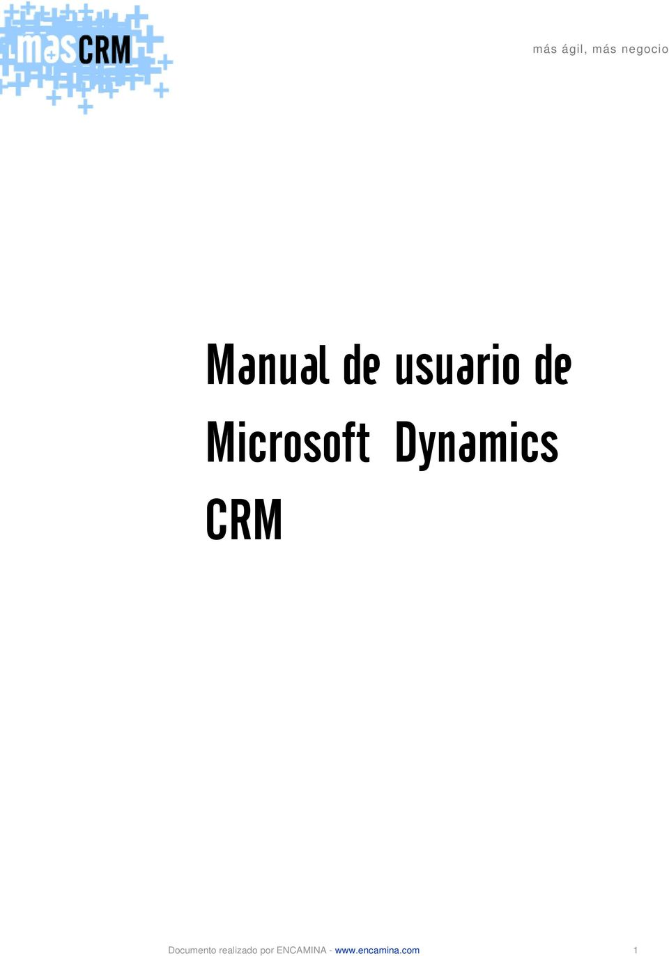 Dynamics CRM Documento