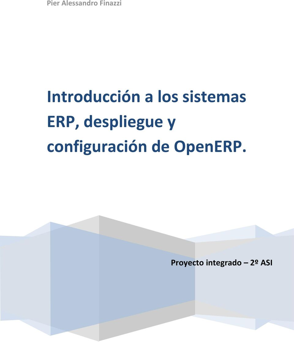 ERP, despliegue y