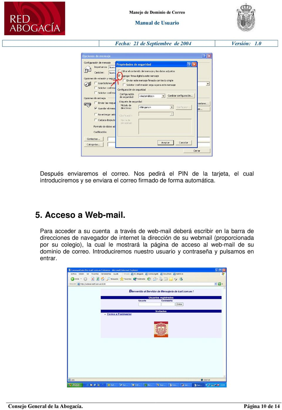 Acceso a Web-mail.