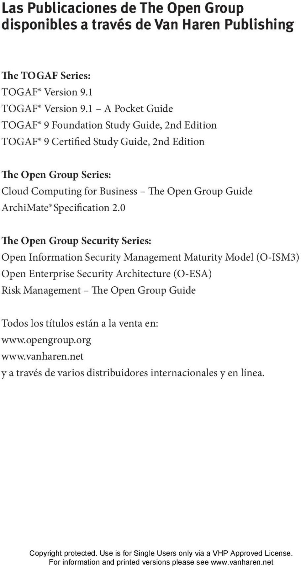 Open Group Guide ArchiMate Specification 2.