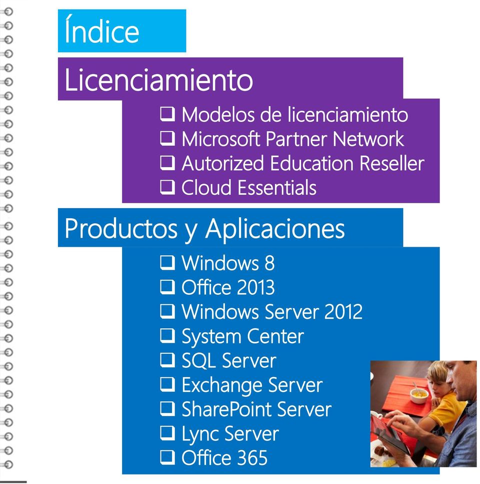Aplicaciones Windows 8 Office 2013 Windows Server 2012 System