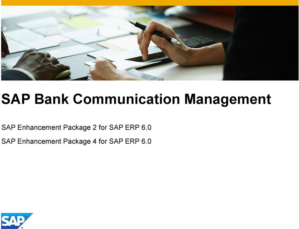 Package 2 for SAP ERP 6.