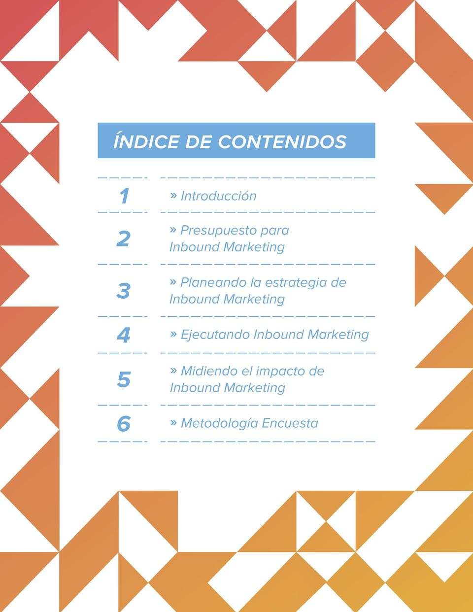 estrategia de Inbound Marketing» Ejecutando Inbound