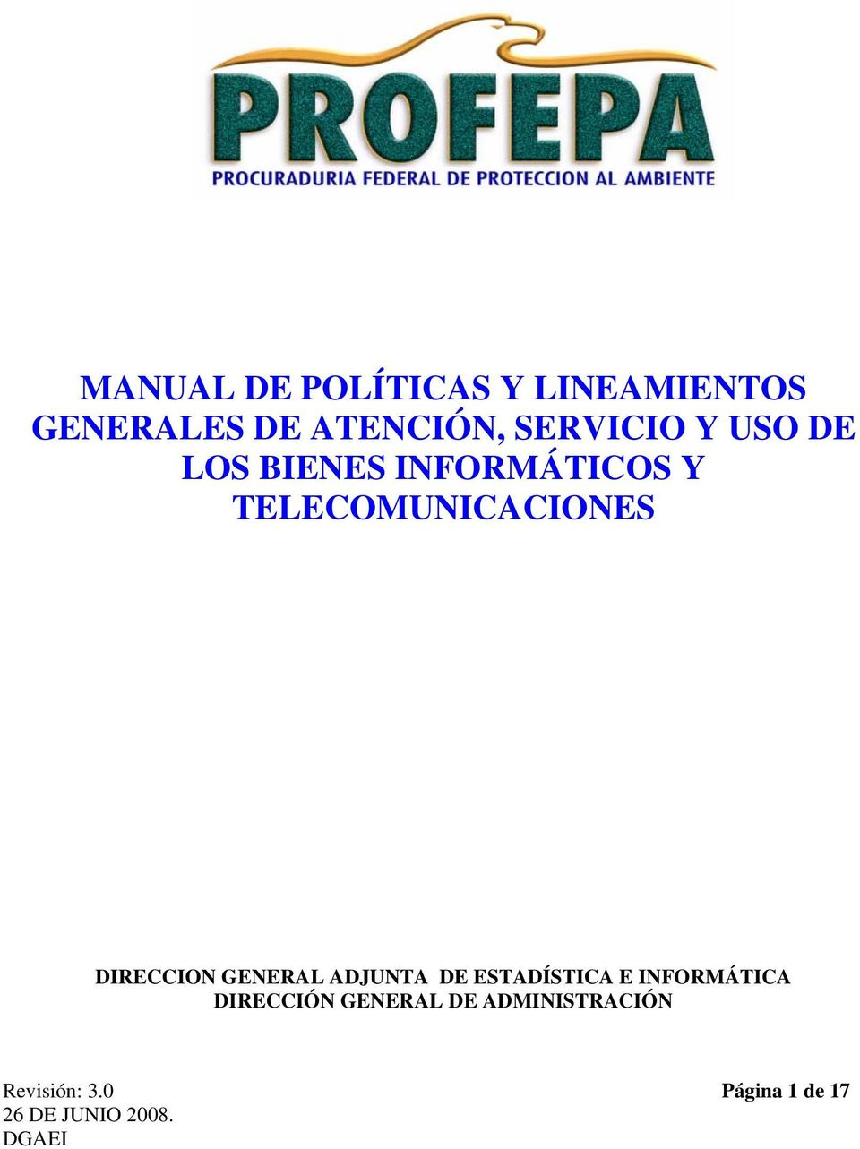 TELECOMUNICACIONES DIRECCION GENERAL ADJUNTA DE ESTADÍSTICA