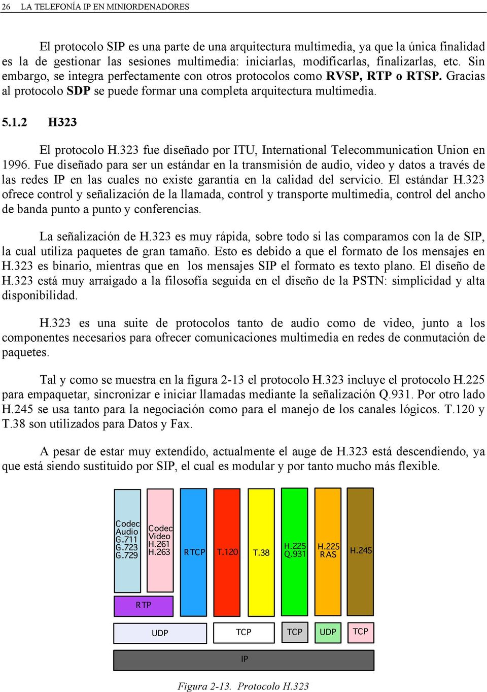 2 H323 El protocolo H.323 fue diseñado por ITU, International Telecommunication Union en 1996.