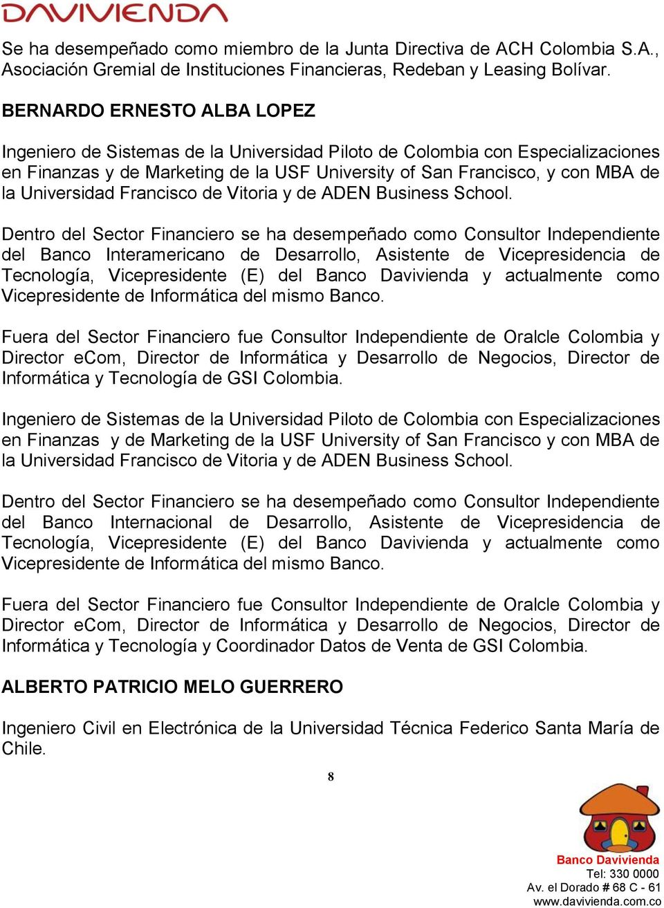 Universidad Francisco de Vitoria y de ADEN Business School.