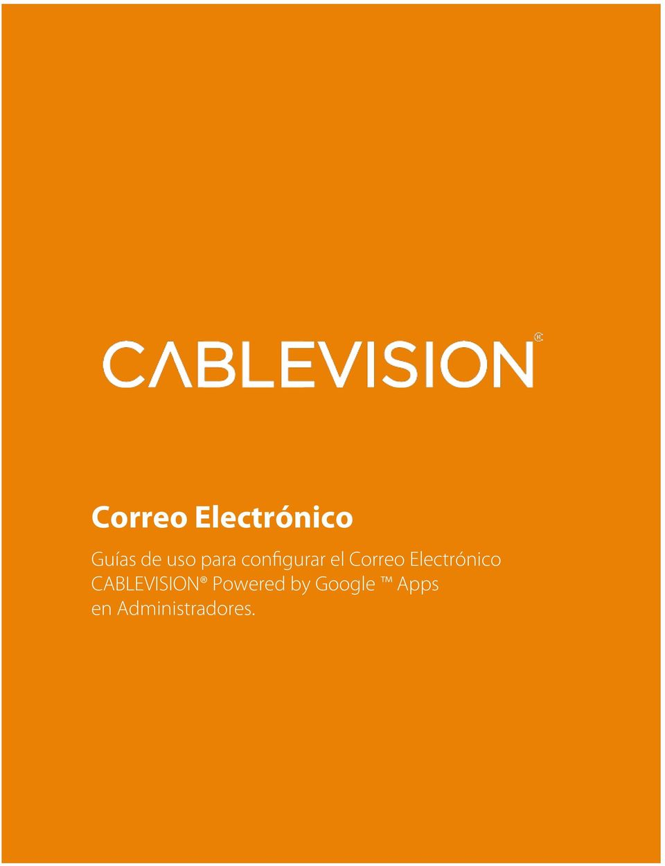 Electrónico CABLEVISION Powered