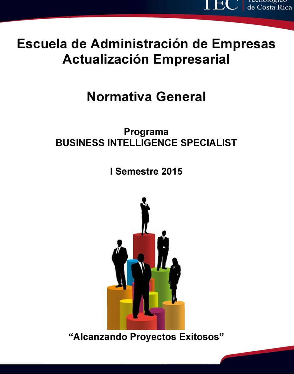 Programa BUSINESS INTELLIGENCE SPECIALIST I