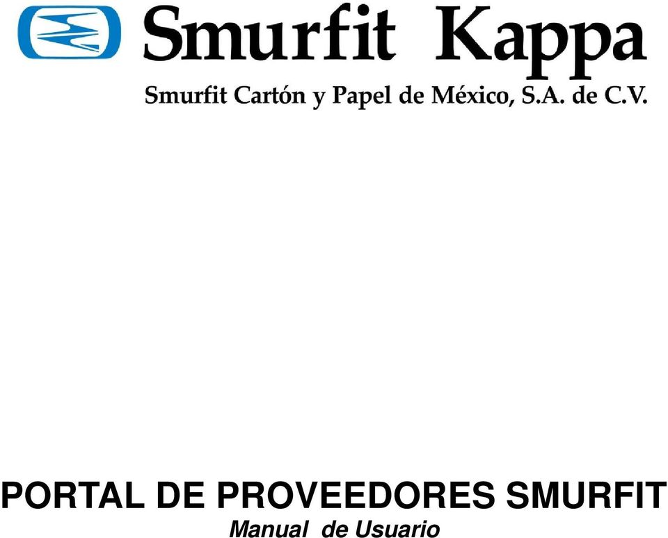 PORTAL DE PROVEEDORES SMURFIT. Manual de Usuario - PDF - photo#31