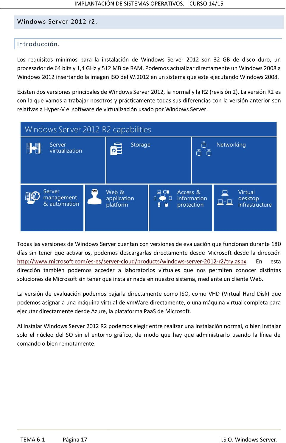 Existen dos versiones principales de Windows Server 2012, la normal y la R2 (revisión 2).