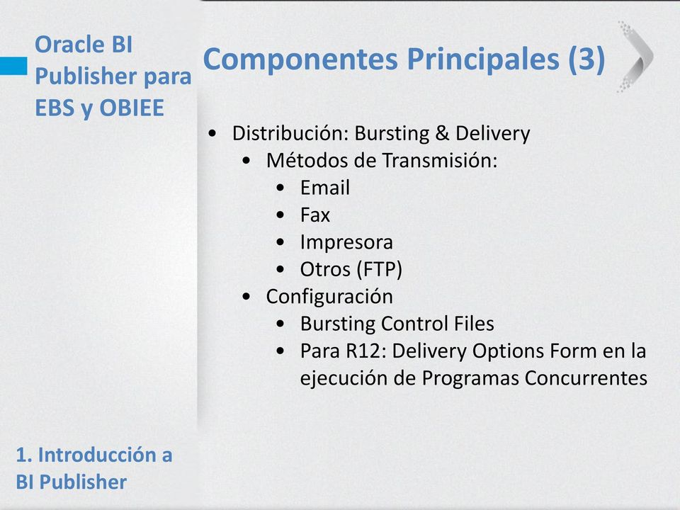 Configuración Bursting Control Files Para R12: Delivery Options