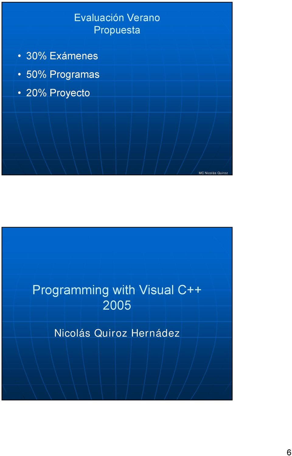 Propuesta Programming with