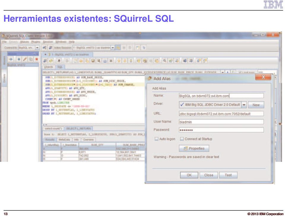 SQuirreL SQL 13