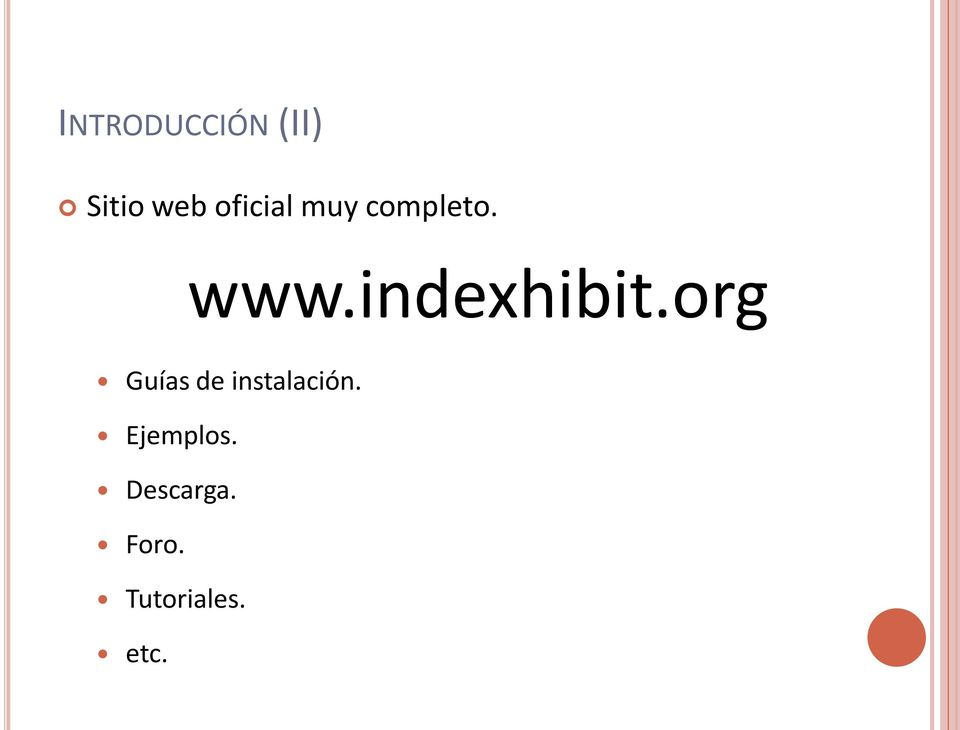 indexhibit.