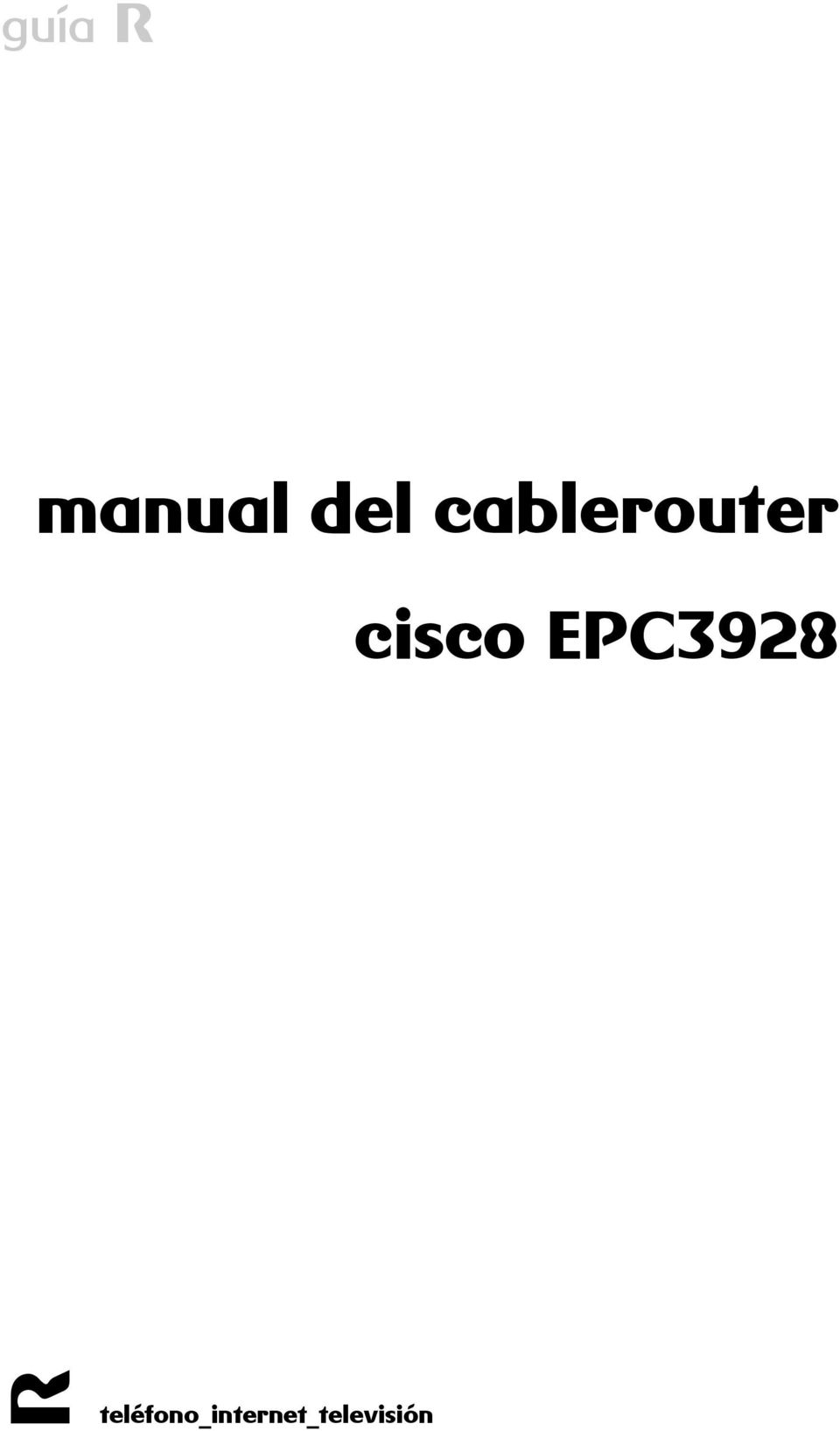 cisco EPC3928