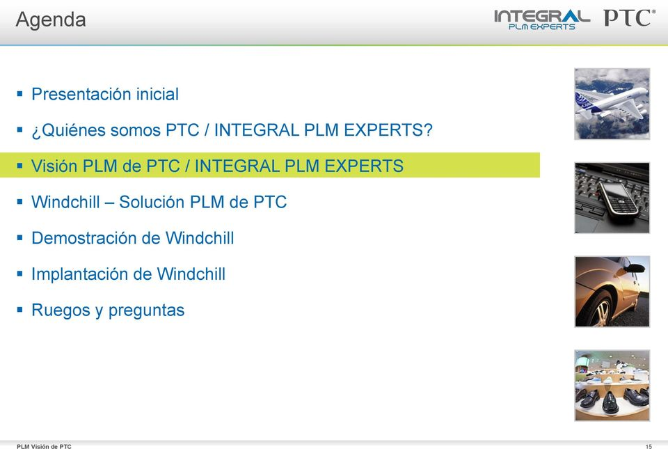 Visión PLM de PTC / INTEGRAL PLM EXPERTS Windchill