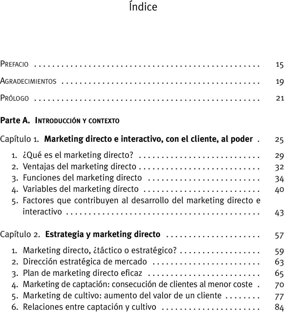 Funciones del marketing directo......................... 4. Variables del marketing directo.......................... 5. Factores que contribuyen al desarrollo del marketing directo e interactivo.