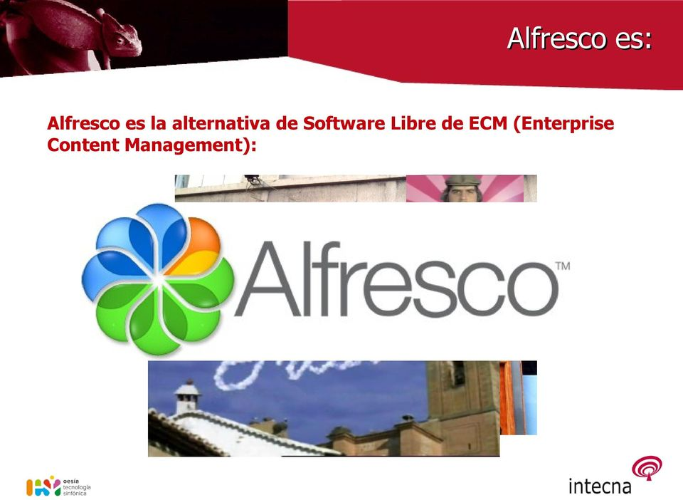 Software Libre de ECM