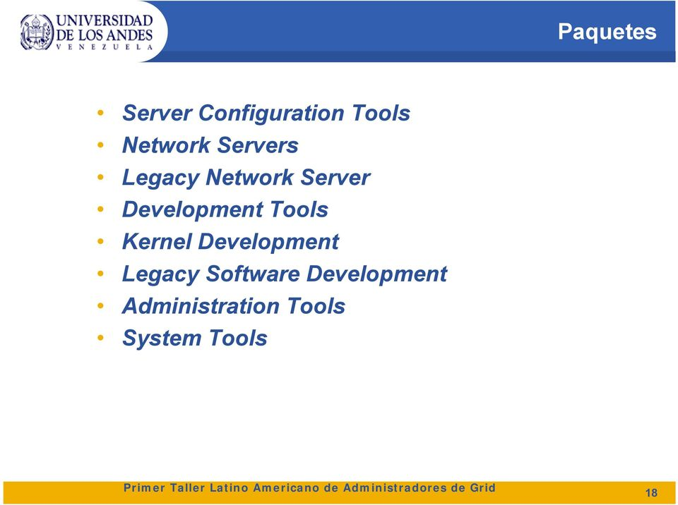 Tools Kernel Development Legacy Software