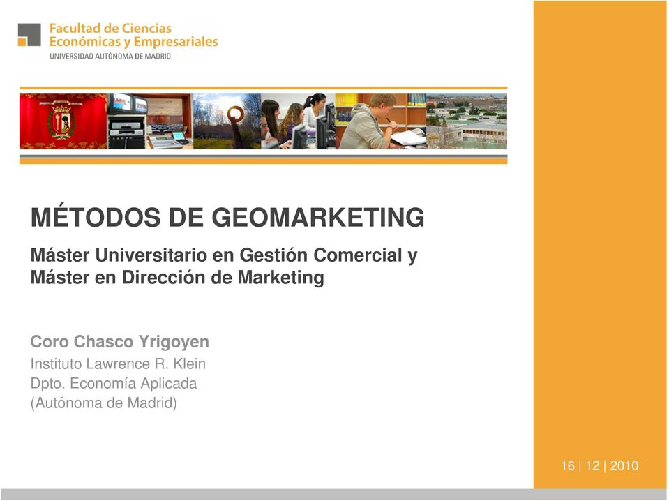 Marketing Coro Chasco Yrigoyen Instituto