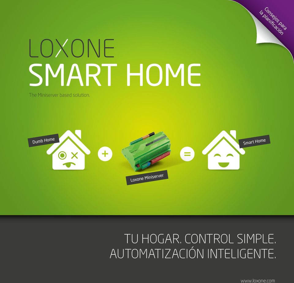 Dumb Home Smart Home Loxone Miniserver TU