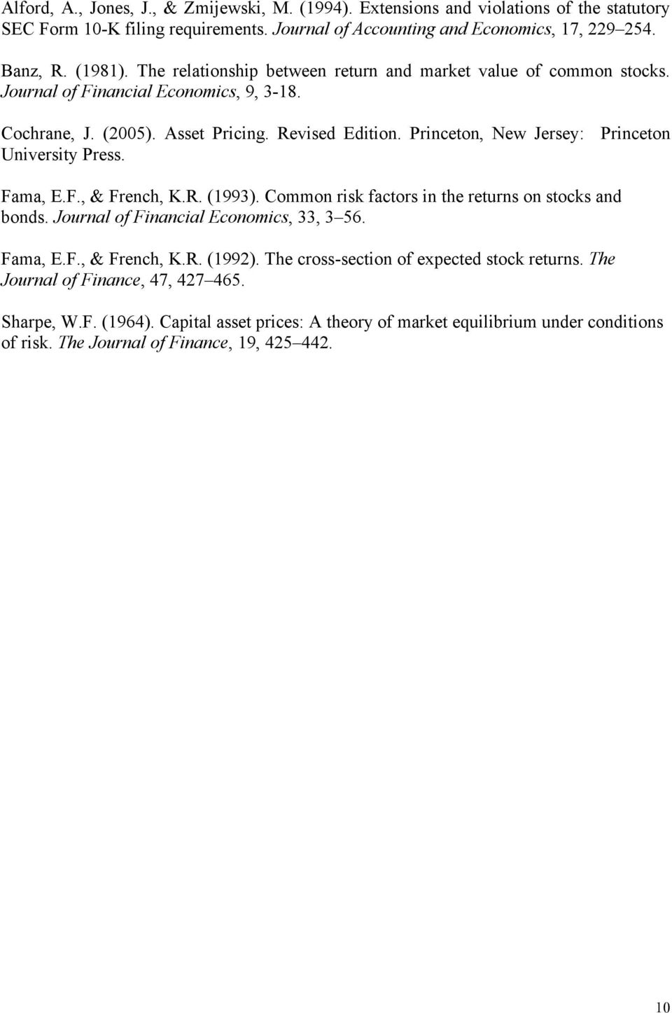 fama and french 1992 This draft: february 2012 § fama and french are also consultants to dimensional fund advisors fama and french, 1992 lakonishok, shleifer, and vishny, 1994.