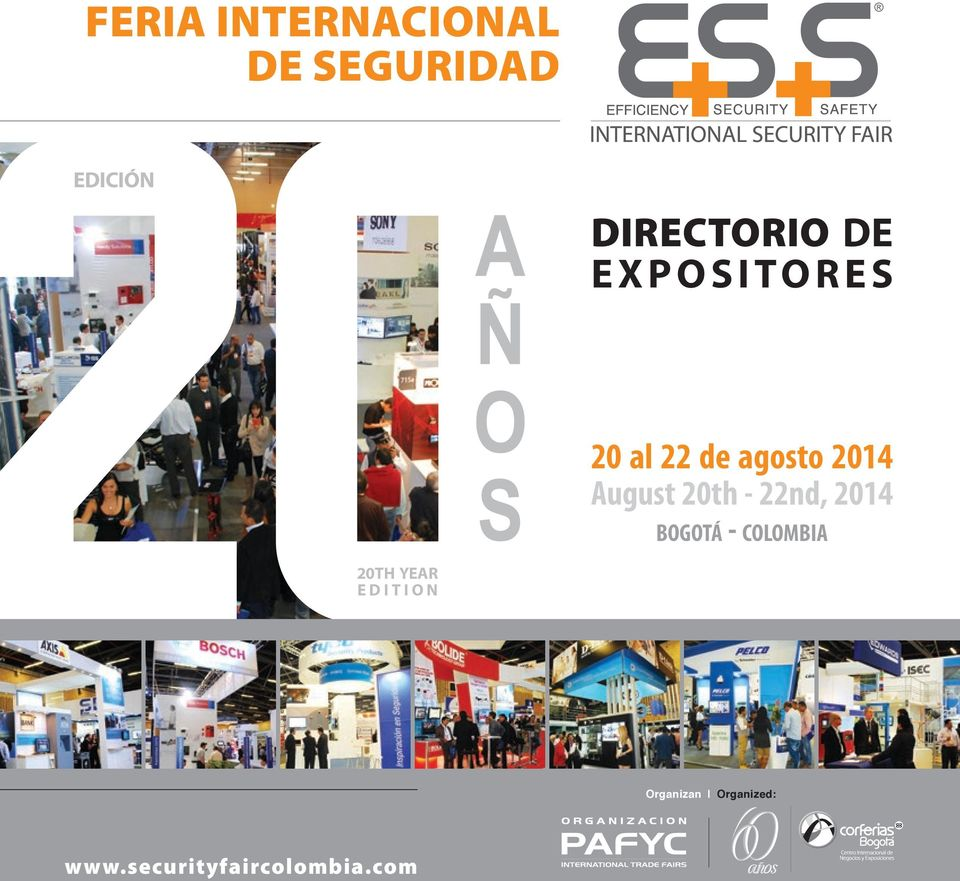 August 20th - 22nd, 2014 bogotá - colombia 20TH