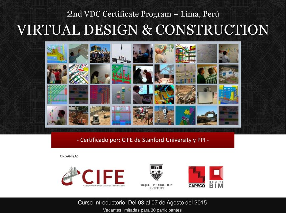University y PPI - ORGANIZA: Curso Introductorio: Del 03