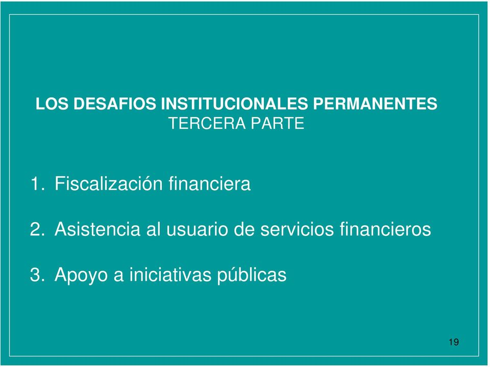 Fiscalización financiera 2.