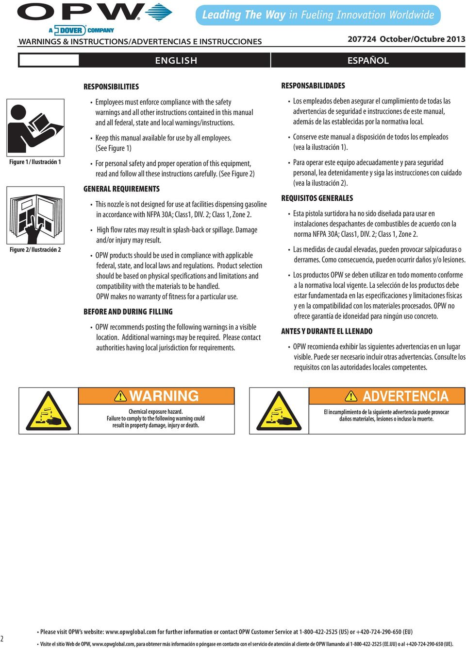 (See Figure 1) For personal safety and proper operation of this equipment, read and follow all these instructions carefully.