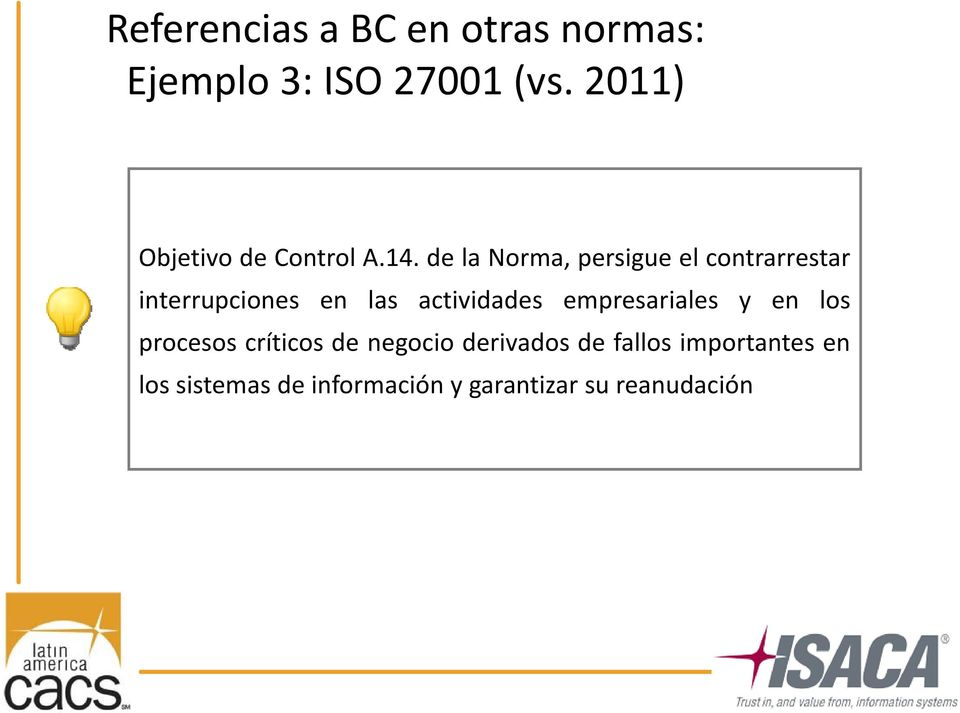 Modelos de madurez en Business Continuity Management paso a paso ...