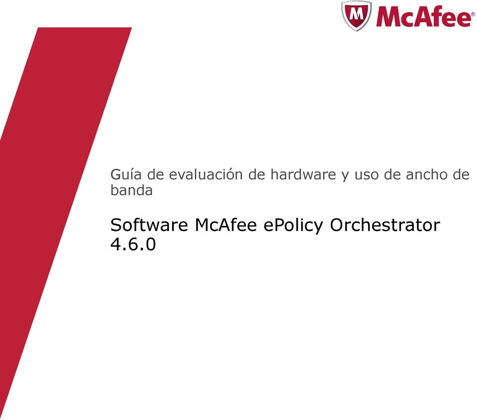 de banda Software McAfee