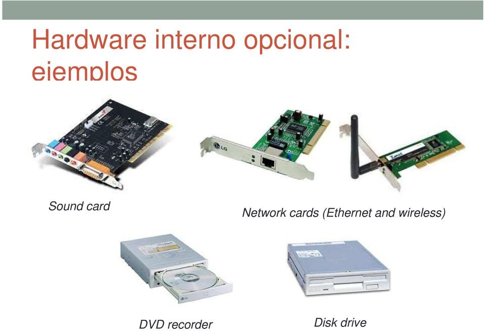 Network cards (Ethernet