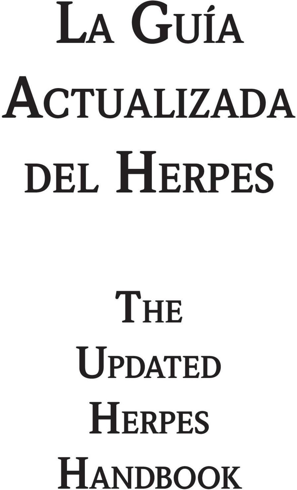 del Herpes The