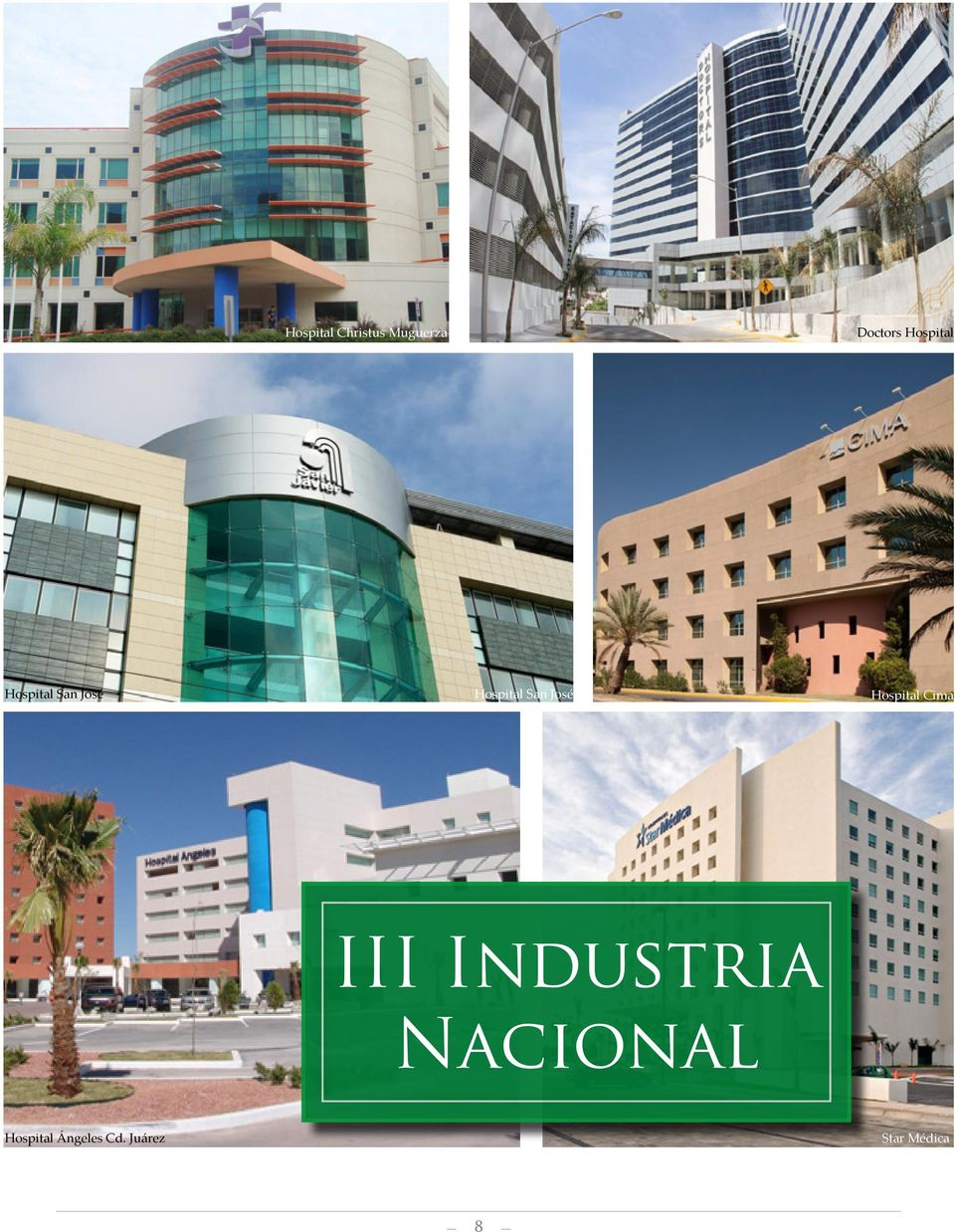 José Hospital Cima III Industria