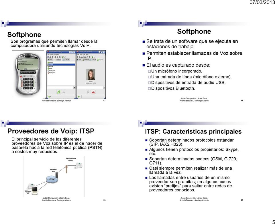 Dispositivos Bluetooth.