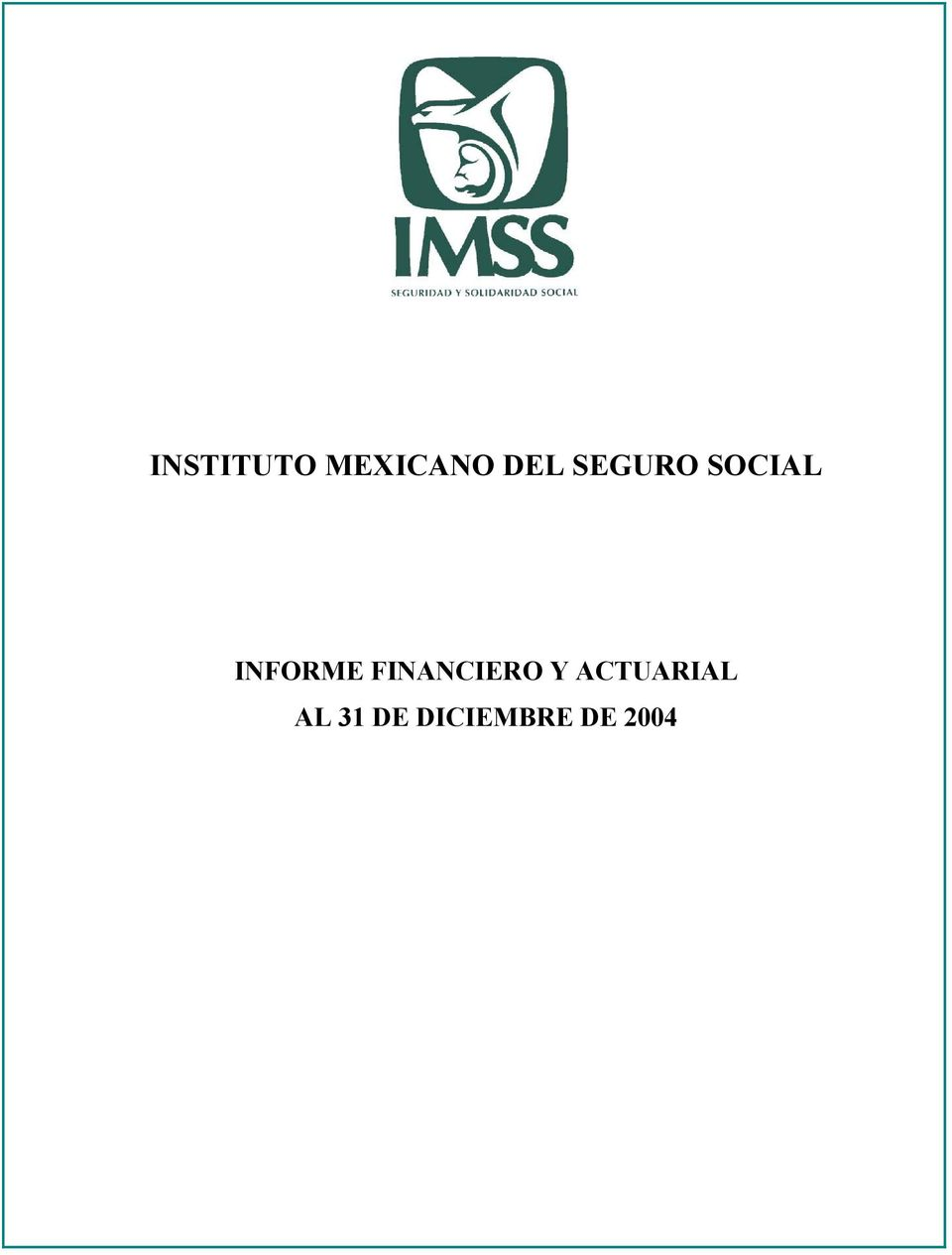 FINANCIERO Y ACTUARIAL