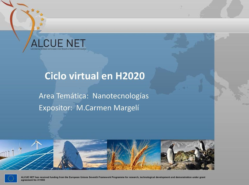 Carmen Margelí ALCUE NET has received funding from the European