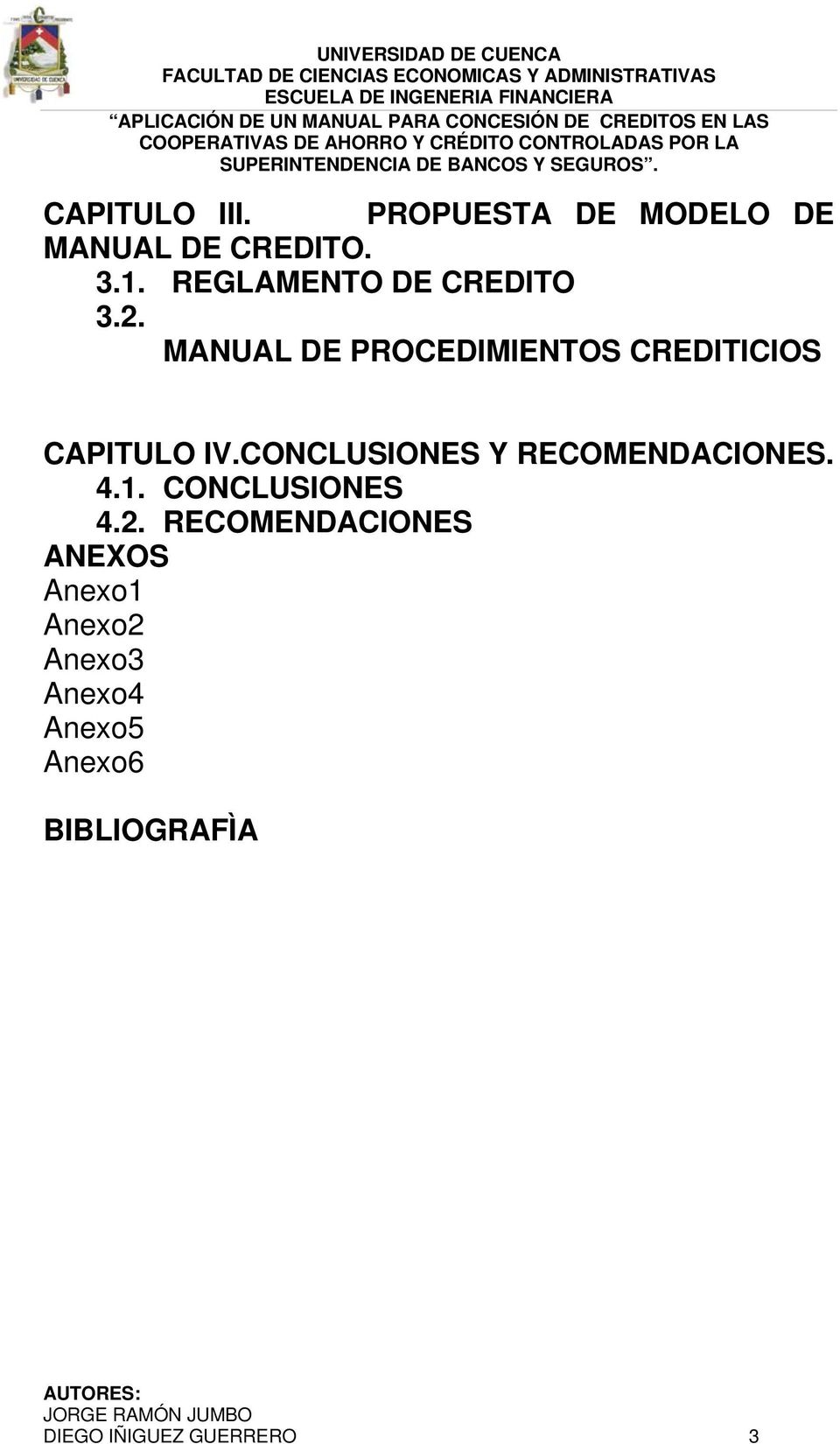 MANUAL DE PROCEDIMIENTOS CREDITICIOS CAPITULO IV.