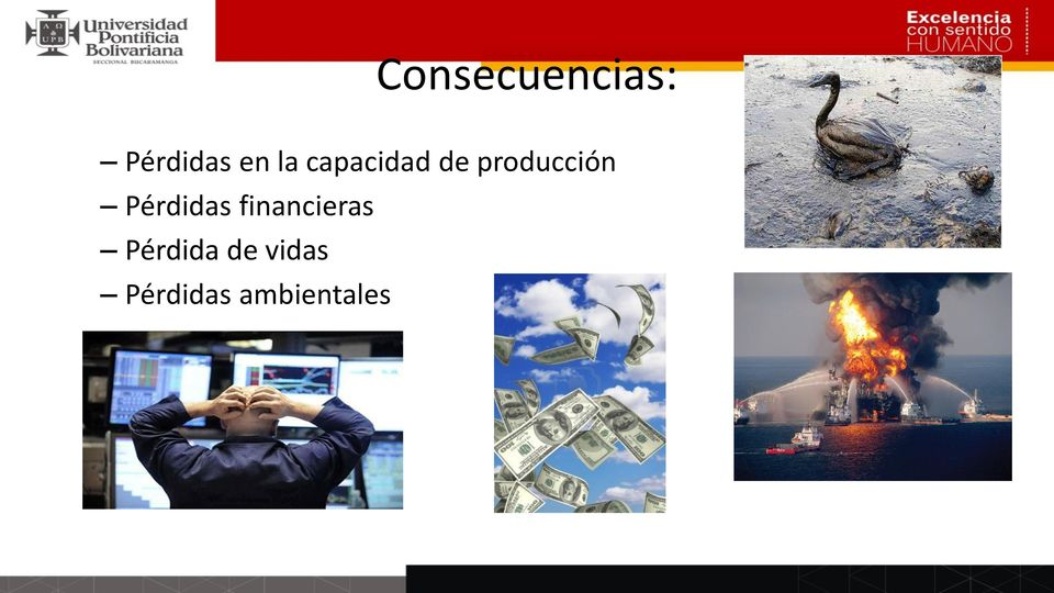 Pérdidas financieras