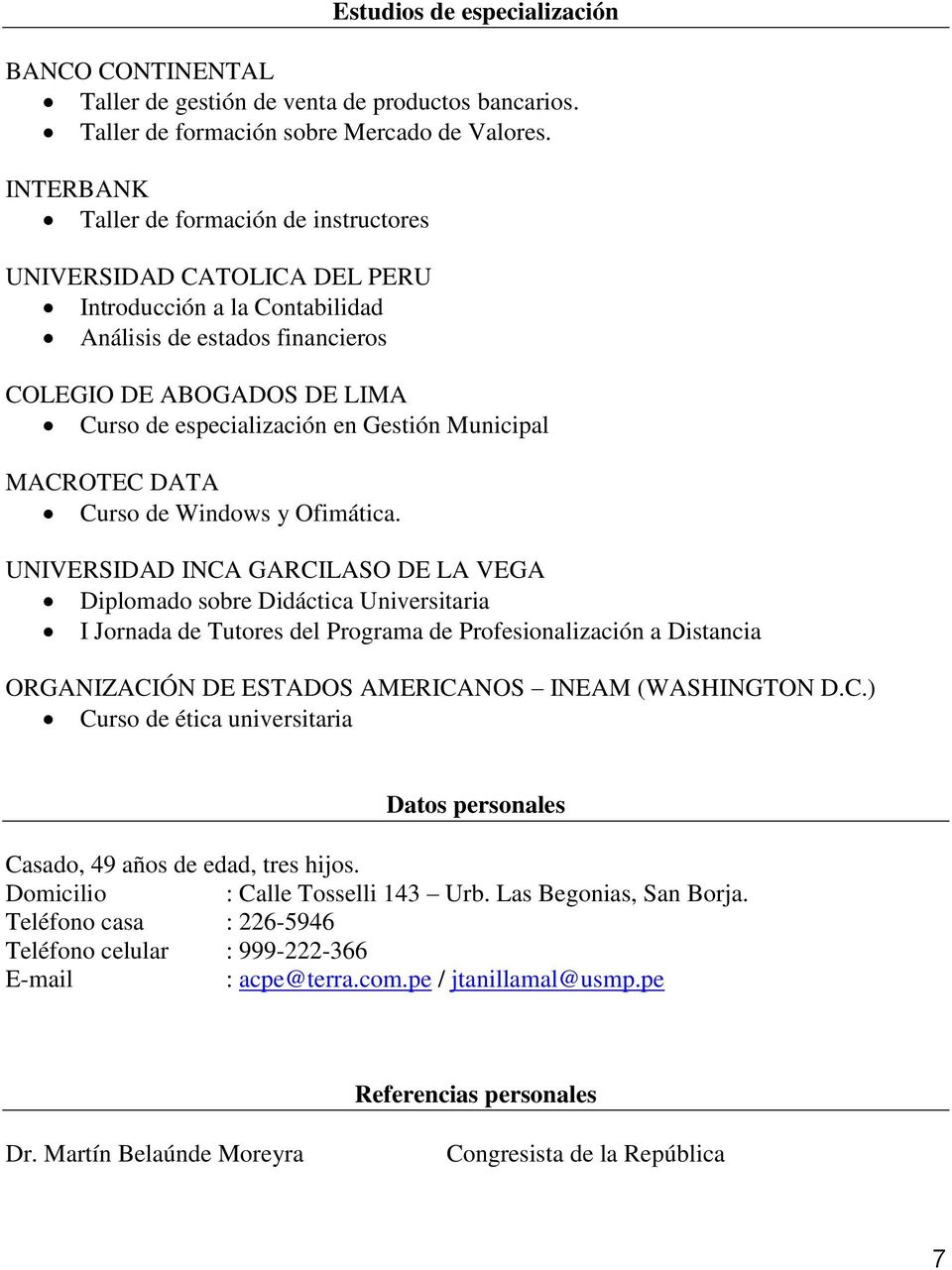 Gestión Municipal MACROTEC DATA Curso de Windows y Ofimática.