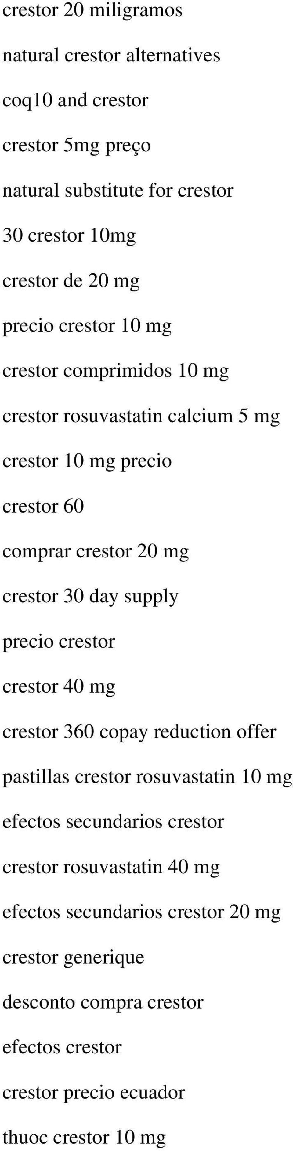 day supply precio crestor crestor 40 mg crestor 360 copay reduction offer pastillas crestor rosuvastatin 10 mg efectos secundarios crestor crestor