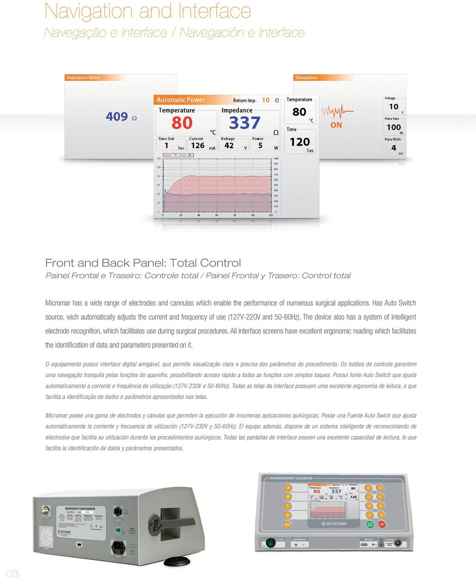 Has Auto Switch source, wich automatically adjusts the current and frequency of use (127V-220V and 50-60Hz).
