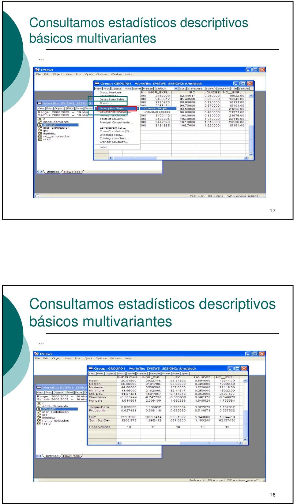 multivariantes 17