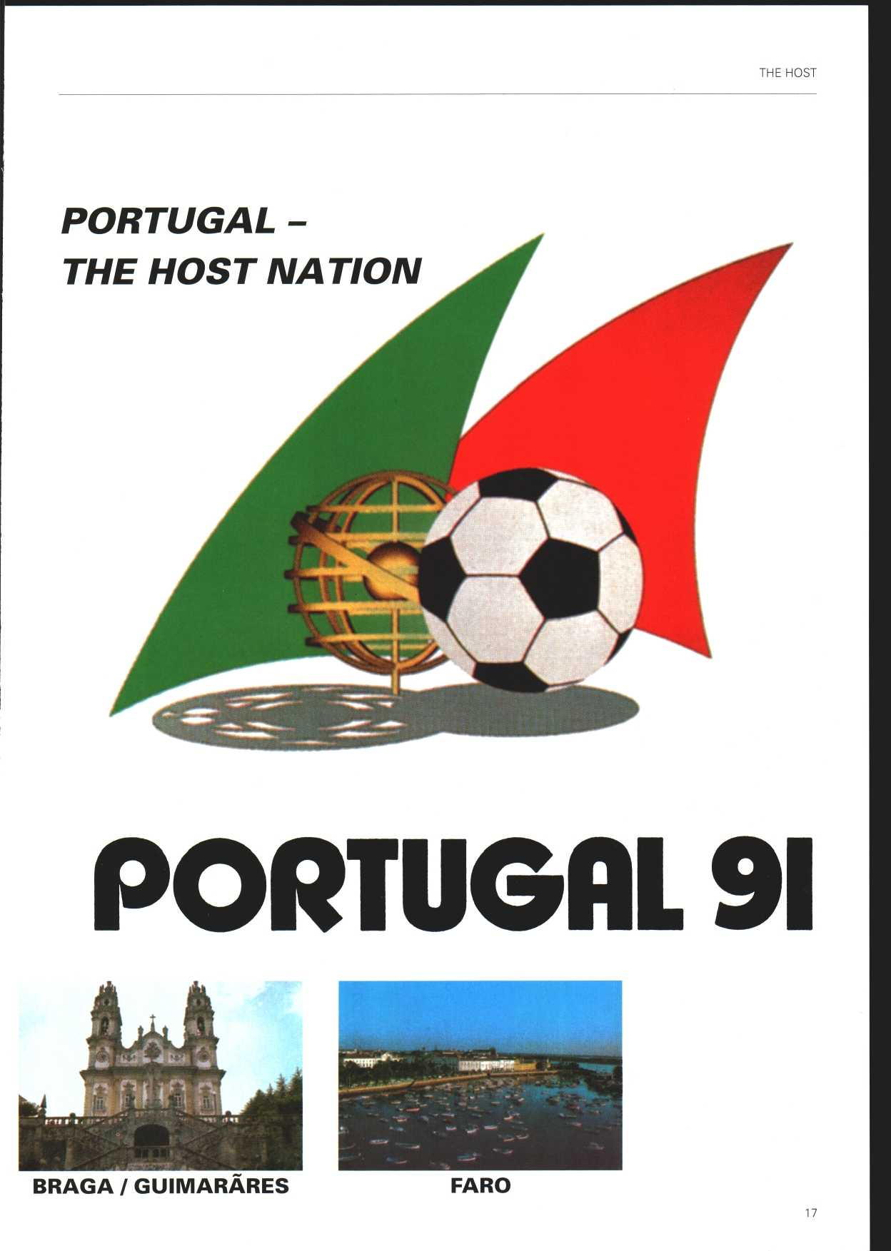 THE HOST PORTUGAL - THE HOST NATION