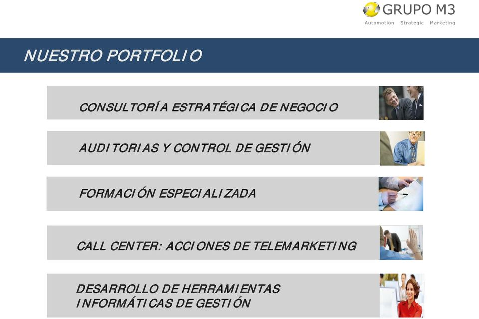 ESPECIALIZADA CALL CENTER: ACCIONES DE
