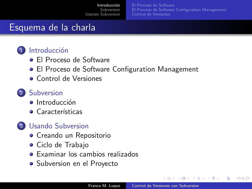 Proceso de Software El Proceso de Software Configuration