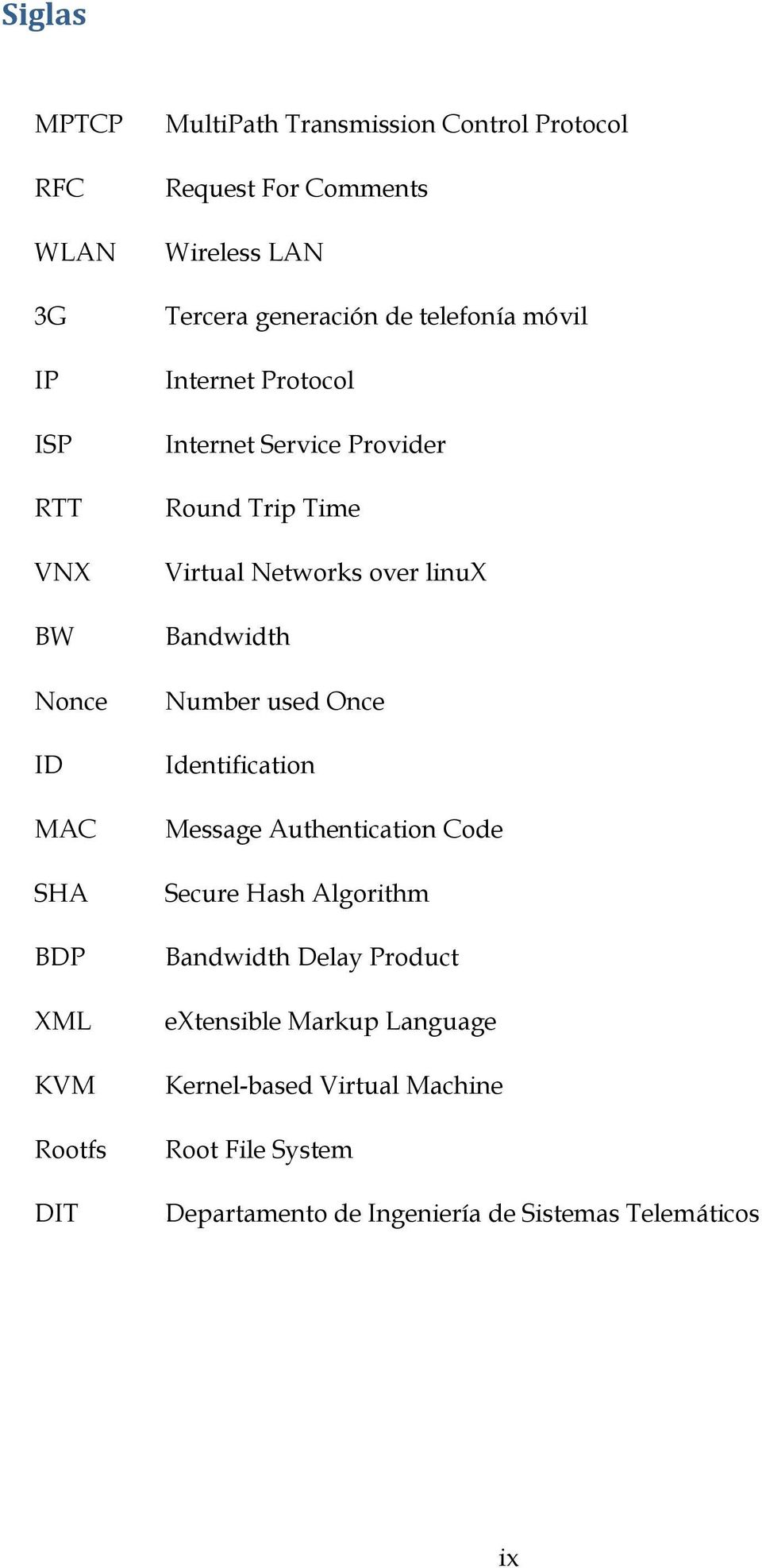 Networks over linux Bandwidth Number used Once Identification Message Authentication Code Secure Hash Algorithm Bandwidth Delay