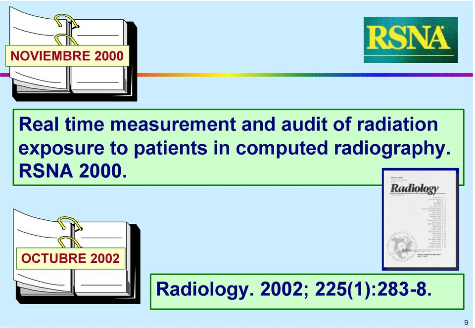 in computed radiography. RSNA 2000.